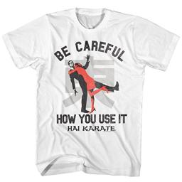 Hai Karate Aftershave Fragrance Careful How You Use It Attack Adult T-Shirt Tee