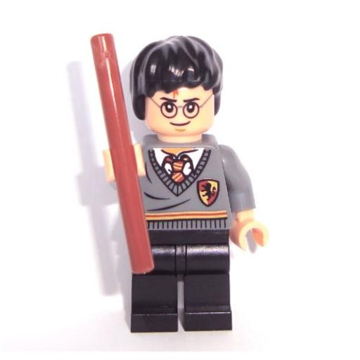 LEGO Harry Potter - Minifigur mit Zauberstab Loose LEGO original goods in a polybag without original packaging and instructions.