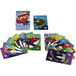 Mattel Games Spiderman UNO Card Game