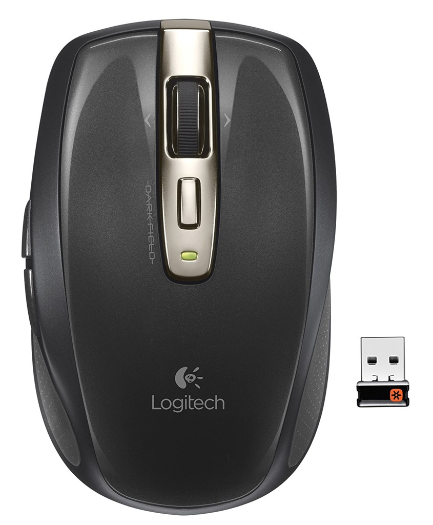 Logitech 910-002896 USB Anywhere Wireless Laser Mouse MX for PC and Mac