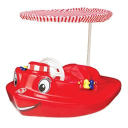 SwimWays Baby Tug Boat Plastic Float with Removeable Sun Canopy