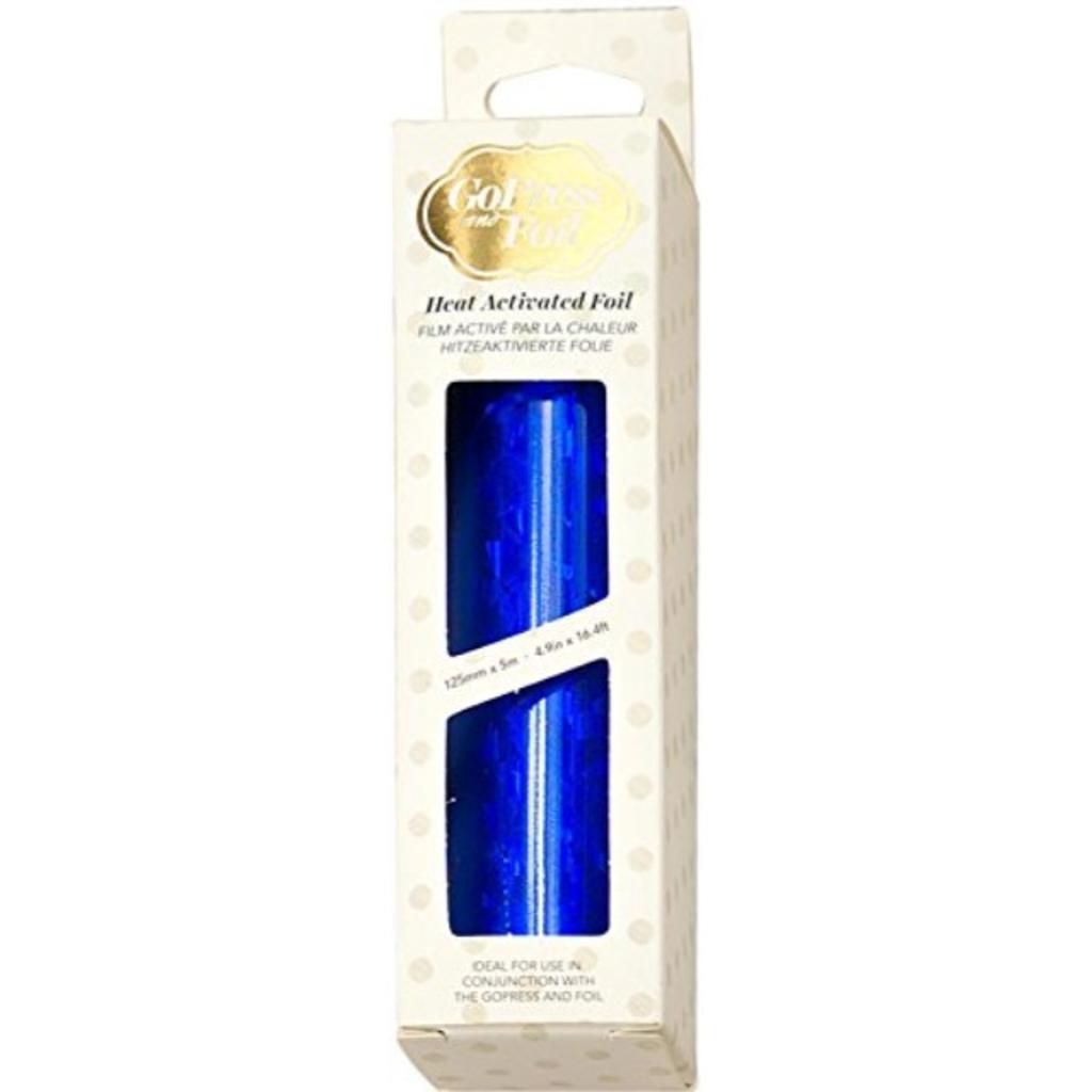 Artdeco Creations CO726054 Iridescent Triangular Foil, Blue
