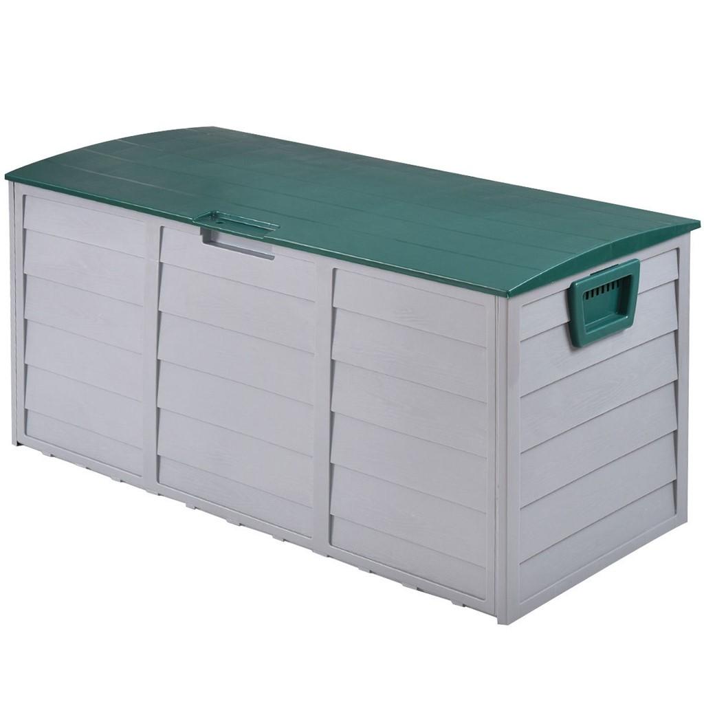 70 Gallon Durable Outdoor Plastic Storage Box