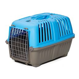 "Midwest Spree Plastic Pet Carrier - 18.875"" - Blue"