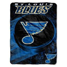 """The Northwest Company Officially Licensed NHL Ice Dash Micro Raschel Throw Blanket, 46"""" x 60"""""""
