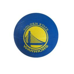 Spalding NBA Golden State Warriors Mini Rubber Basketball