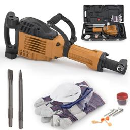 ARKSEN© 3600W Electric Demolition Jack Hammer with Carrying Case