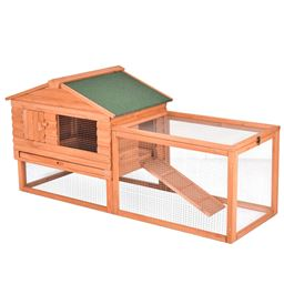 64 Outdoor Wooden Small Animal Rabbit House""
