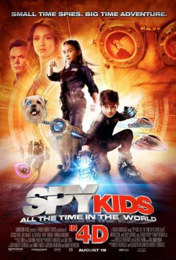 Spy Kids 4: All the Time in the World Movie Poster Print (27 x 40) 745271