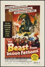 The Beast From 20000 Fathoms 1953 Movie Poster Masterprint EVCMSDBEFREC010HLARGE