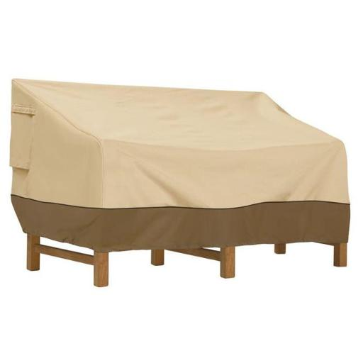 Classic Accessories 55-413-031501-00 Deep Seat Sofa Cover - Medium, Brown