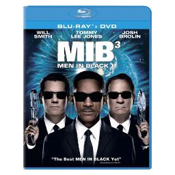Men in black 3 (blu-ray/dvd combo/dol dig 5.1/ws/1.85/eng/fren-par) BR40284