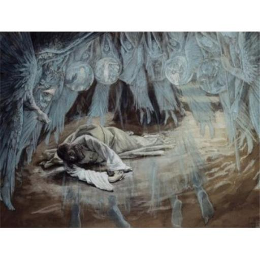 Posterazzi SAL999231 Agony in the Garden James Tissot 1836-1902 French Poster Print - 18 x 24 in.