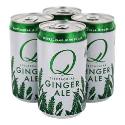 Q Drinks - Spectacular Ginger Ale Cans