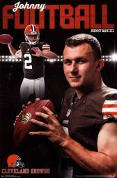 Cleveland Browns - Johnny Manziel 2014 Poster Poster Print TIARP13596