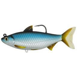 LIVETARGET LURES GSS159MS701 LIVETARGET LURES GSS159MS701 Golden Shiner,6 1/2,SB,MD,SLVR/BLU,11/0
