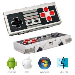 8Bitdo NES30 Bluetooth Wireless Controller for Nintendo, Mac, PC, iOS, Android
