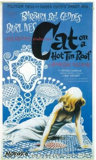Cat On A Hot Tin Roof (Broadway) Movie Poster (11 x 17)