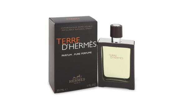 Terre D'Hermes by Hermes Pure Pefume Spray 1 oz Hermes Terre D'Hermes harkens to the scent of a natural man living in splendor. This elegant fragrance debuted on the market in 2006 and quickly defined itself as a leading industry standard. We are pleased to sell Hermes Terre d'Hermes products, including Terre d'Hermes cologne.