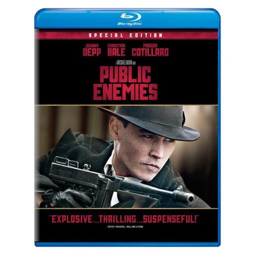 Public enemies (blu ray) (new packaging/ws) EFZ4CNZCOSOQF6JG