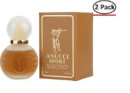 ANUCCI SPORT by Anucci EDT SPRAY 3.4 OZ (Package Of 2)