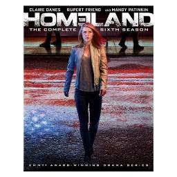 Homeland-season 6 (blu-ray/3 disc/ws-1.78/eng-sdh-fr-sp sub) BR2339184