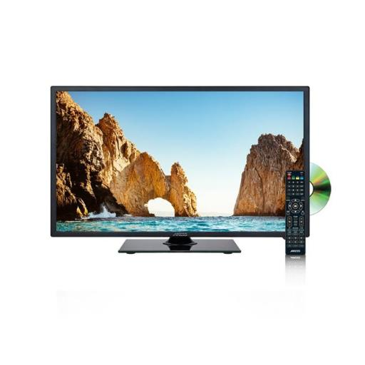 Axess TVD1805-19 19-in. Led Hdtv Dvd Combo, Features 1xhdmi & Headphone Inputs, Dvd Player