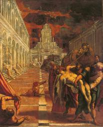 The Stealing Of The Dead Body Of St Mark Poster Print EVCMOND030VJ248HLARGE