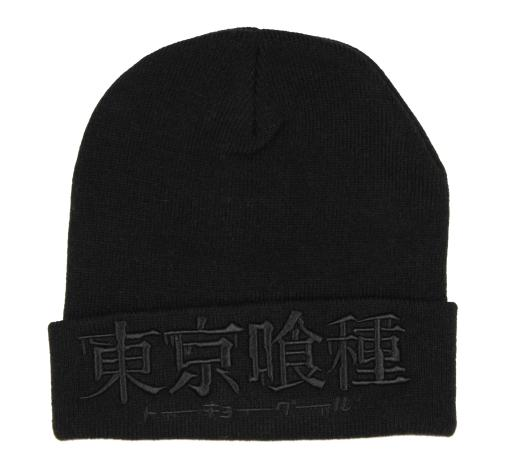 Tokyo Ghoul Embroidered Knit Cuff Beanie Hat Cap For Men Women