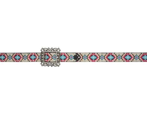 Angel Ranch Western Belt Womens Aztec Studs Crystals Multi-Color A2020 XOUVSYLKDQ64PSDG