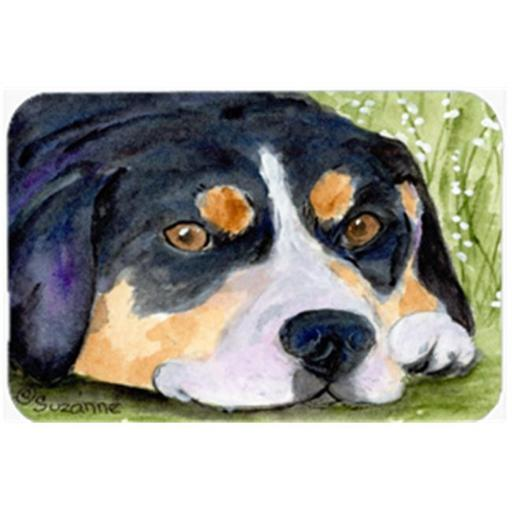 Entlebucher Mountain Dog Mouse Pad & Hot Pad Or Trivet