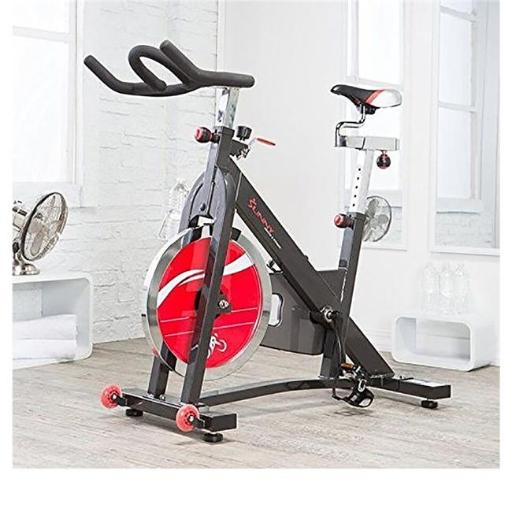 Sunny Health & Fitness SF-B1401 Heavy-Duty Chain-Drive Indoor Cycling Bike