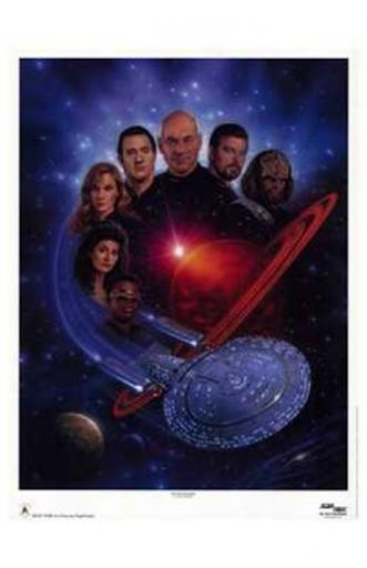 Star Trek The Next Generation Movie Poster (11 x 17) PN7YOGCQ8GLLEHJN
