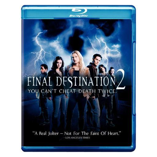 Final destination 2 (blu-ray) AUCQVORDMTNAUKJH