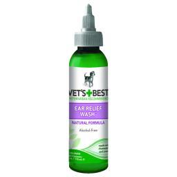 Vet'S Best 3165810021 Green Vet'S Best Dog Ear Relief Wash 4Oz Green 1.5 X 1.5 X 6.5