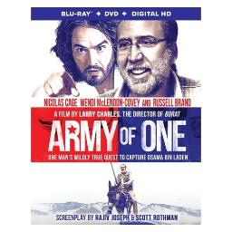 Army of one (blu-ray/dvd/uv) BR64459