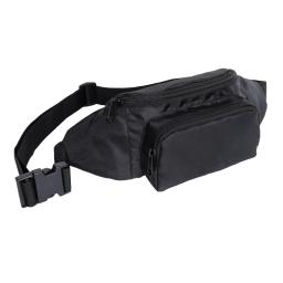 Rothco 5431 Crossbody Fanny Pack, EDC Travel Pack, Black