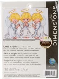 Little Angels Counted Cross Stitch Kit- 70-65167