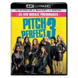 Pitch perfect 3 (blu-ray/4kuhd/ultraviolet/digital hd) BR61193159