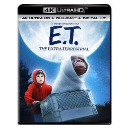 E t-extra-terrestrial (blu-ray/4kuhd mastered/ultraviolet/digital hd) BR61190461