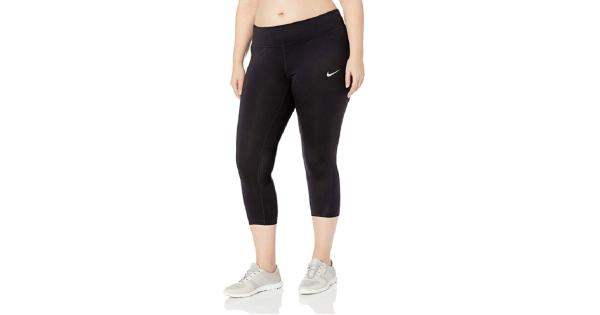 858678ea02e48d Nike Nike Women's Plus Size Power Compression Cropped Leggings Black Size 3  Extra Large | massgenie.com