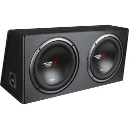 Cerwin-Vega Mobile Xe12dv Xed Series Xe12dv Dual 12-Inch Subwoofers In Loaded Enclosure