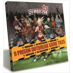 Cool Mini Or Not GUG0021 Zombicide - Prison Outbreak Tile Pack