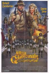 Allan Quatermain and the Lost City of Gold Movie Poster Print (27 x 40) MOVCH7703