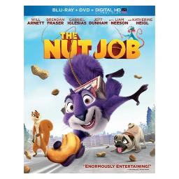 NUT JOB (BLU RAY/DVD/DIGITAL HD W/ULTRAVIOLET) 25192200823