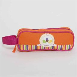 Aquarella Kids PIC2804 Fucsia & Orange Girls Pencilcase