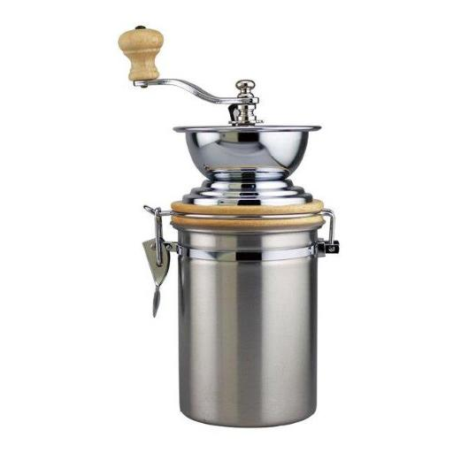 """Supreme Housewares 99002 Manual Coffee Grinder with Stainless Steel Container """" 173B233ED9762C23"""