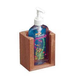 Whitecap teak liquid soap holder