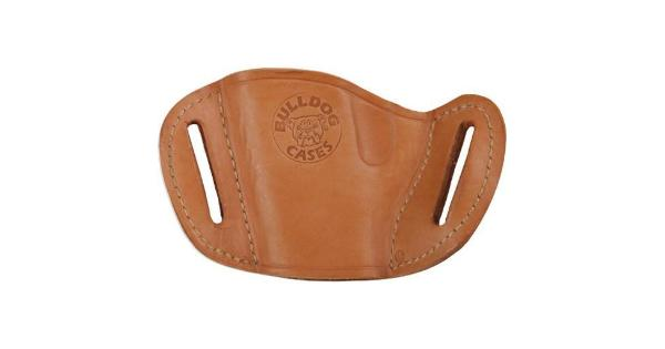 BULLDOG MLTS BULLDOG BELT SLIDE HOLSTER TAN RH SMALL & MINI AUTOS
