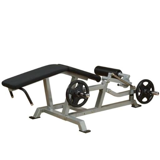 Body Solid LVLC Leverage Leg Curl Exercise Machine